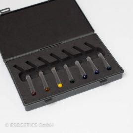 Glas rod straight – (Set of seven) in a box