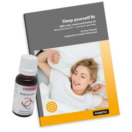 Set: Sleep yourself fit and esogetic Wildcrafted Herbal Oil