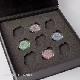Facetted Crystals – Elements (Set of four)